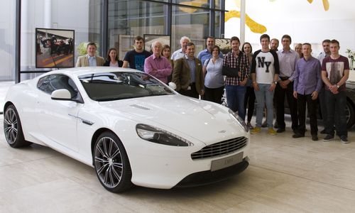 Summer Meeting 2014 - Aston Martin Cars